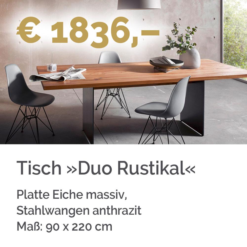 Tisch Duo Rustikal