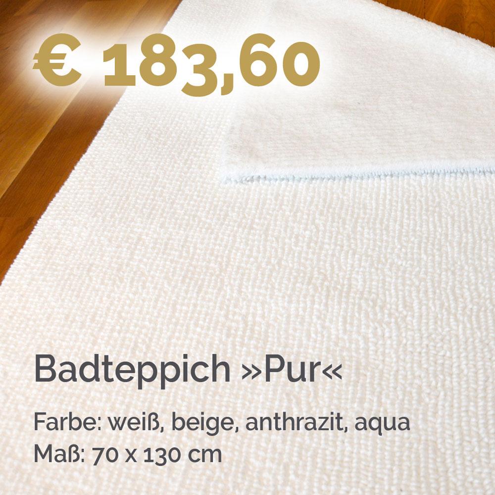 Badteppich Pur