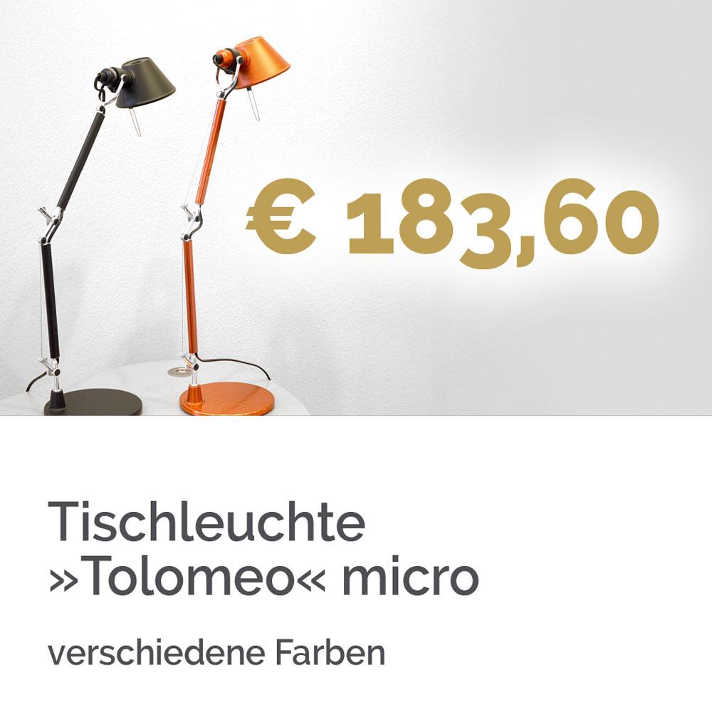 Tischleuchte Tolomeo micro