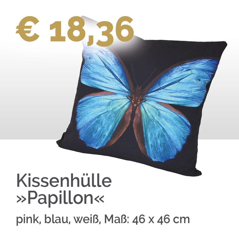 Kissenhülle Papillon